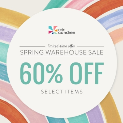 Erin Condren Warehouse Sale: Save up to 60%!