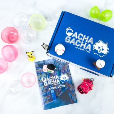 Gacha Gacha Crate April 2020 Subscription Box Review + Coupon