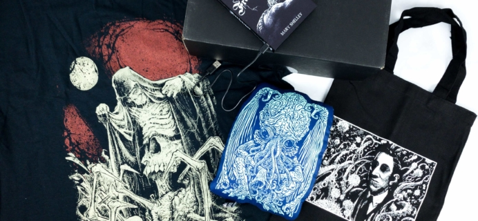 Loot Fright January 2020 Subscription Box Review + Coupon