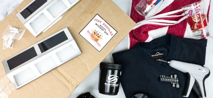 Monthly Mystery Box of Awesome March 2020 Subscription Box Review