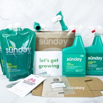 Sunday Smart Lawn Plan Review + Coupon