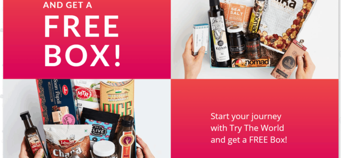 Try the World New Sale: Buy Any Box, Get a BONUS BOX FREE!