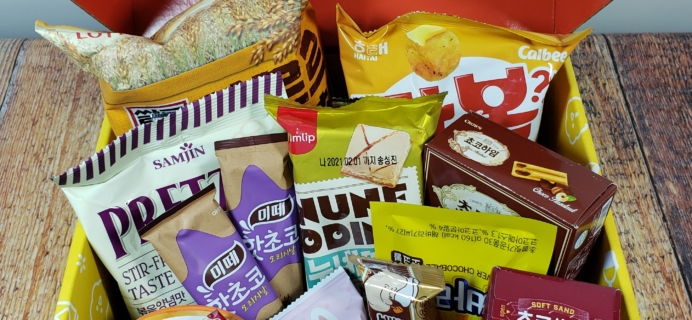Snack Fever Subscription Box Review + Coupon – Deluxe Box February 2020