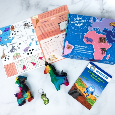 WompleMail Kids Subscription Box Review + Coupon – TANZANIA