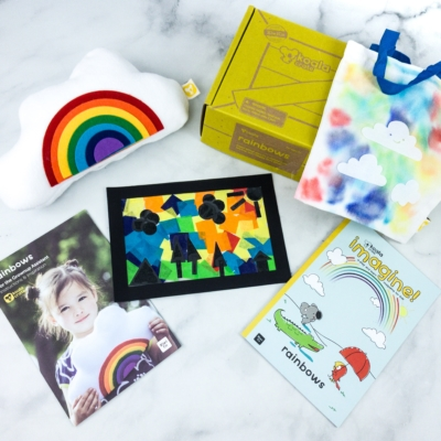 KiwiCo Koala Crate RAINBOWS Box Review & Coupon