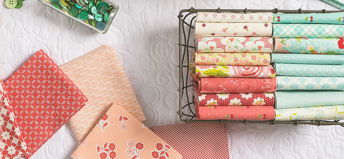 Annie's Creative Quilters Fabric Club – Review? + 50% Off Coupon!
