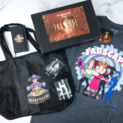 Loot Sci-Fi by Loot Crate January 2020 Subscription Box Review + Coupon – FARSCAPE