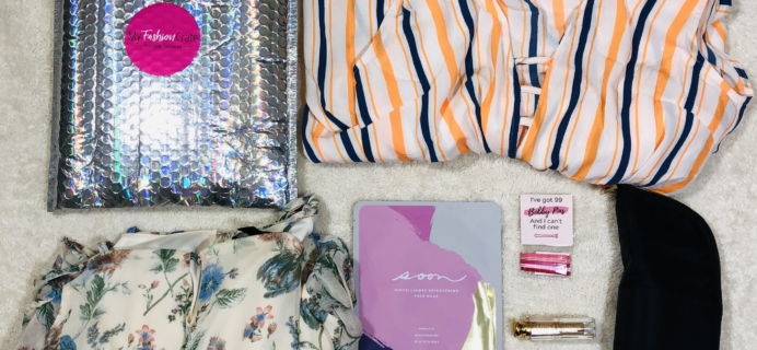 My Fashion Crate April 2020 Subscription Box Review