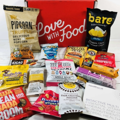 Love With Food April 2020 Deluxe Box Review + Coupon!
