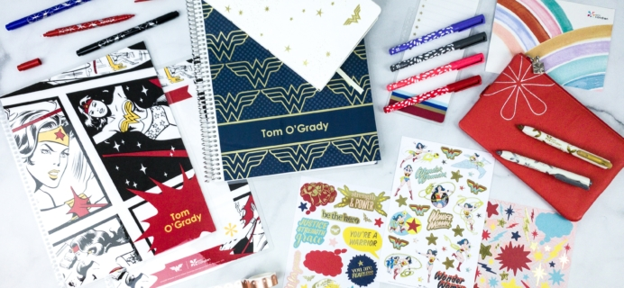 Erin Condren x Wonder Woman Collection Review + Coupon
