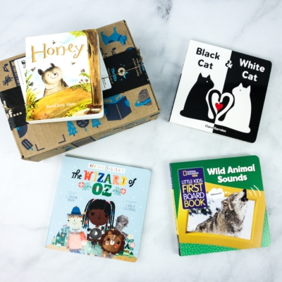 Amazon Prime Book Box Kids April 2020 Review + Coupon – Baby to 2 Years
