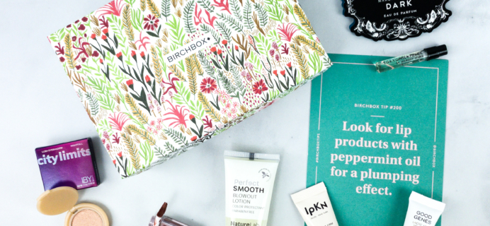 Birchbox April 2020 Subscription Box Review + Coupon – Personalized Box