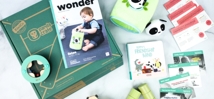 Panda Crate Subscription Box Review & Coupon! – LISTEN WITH ME