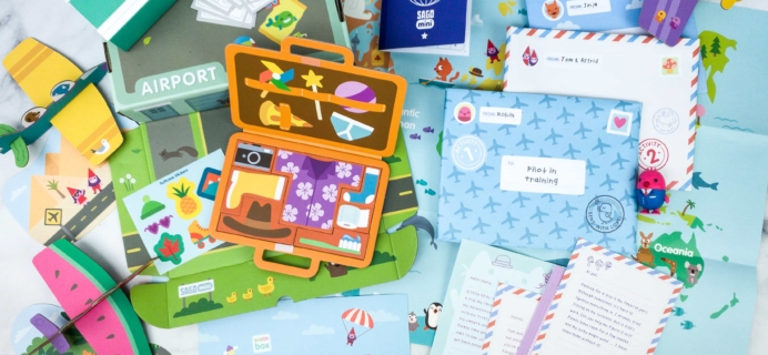 Sago Mini Box April 2020 Subscription Box Review + Coupon – PLANES!