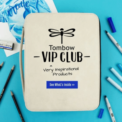 Tombow VIP Club April 2020 Available Now + Full Spoilers!