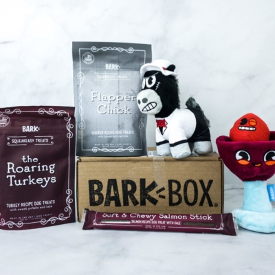 Barkbox April 2020 Subscription Box Review + Coupon