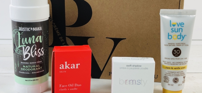 Petit Vour April 2020 Subscription Box Review & Coupon