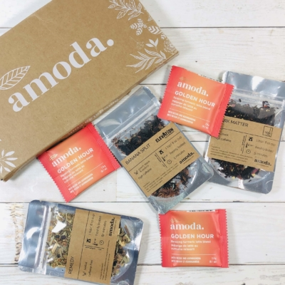Amoda Tea April 2020 Subscription Box Review + Coupon!