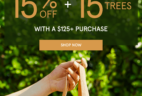 The Detox Market Earth Day Sale: Get 15% Off + 15 Trees Planted!