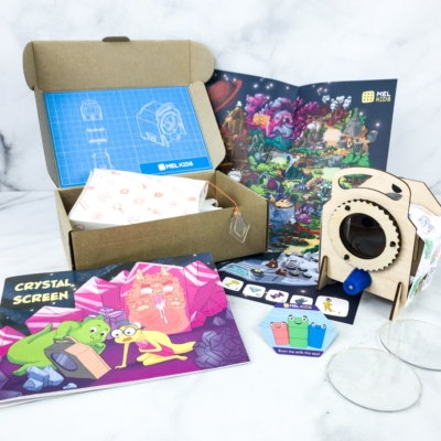 MEL Science Kids Subscription Box Review + Coupon – CRYSTAL SCREEN