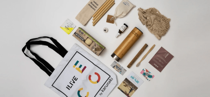 I LIVE ECO Subscription Box – Review? Eco Friendly Home & Lifestyle Subscription!