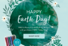 Erin Condren Earth Day Gift With Purchase Coupon: FREE Earth Dual Tip Markers – TODAY ONLY!