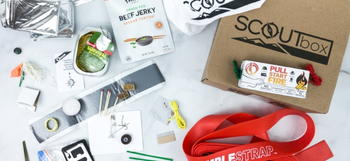 SCOUTbox April 2020 Subscription Box Review + Coupon