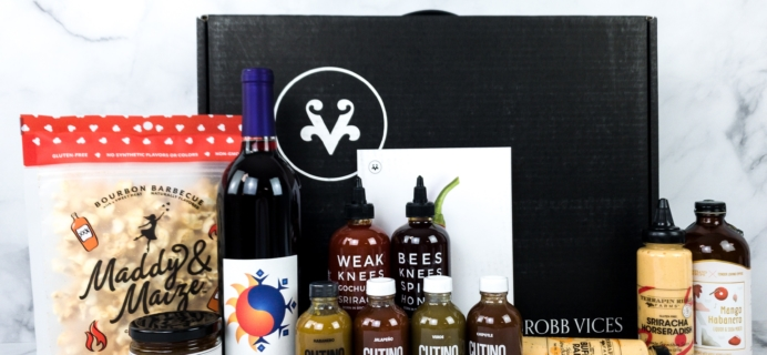 Robb Vices February 2020 Subscription Box Review