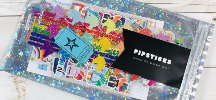 Pipsticks Pro Club Classic March 2020 Subscription Box Review + Coupon!