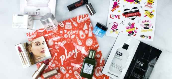 Play! by Sephora April 2020 Subscription Box Review