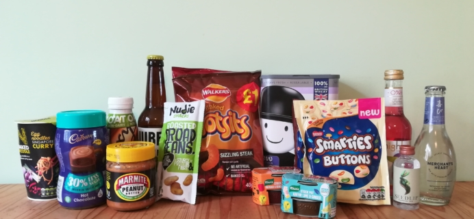 DegustaBox UK March 2020 Subscription Box Review + Coupon!