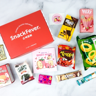 Snack Fever May 2020 Subscription Box Review + Coupon – Original Box!