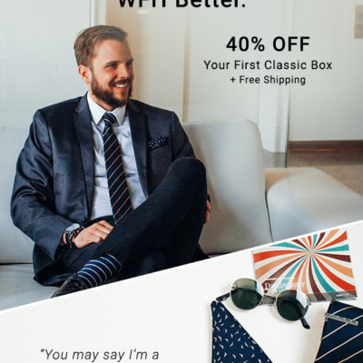 Gentleman's Box Coupon: Get 40% Off First Month!