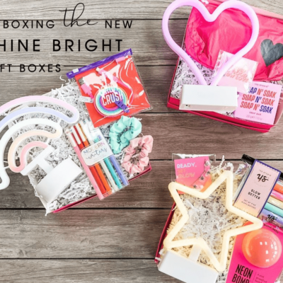 STRONG self(ie) Box Limited Edition Shine Bright Gift Boxes Available Now!