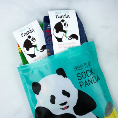 Sock Panda Tweens May 2020 Subscription Review + Coupon