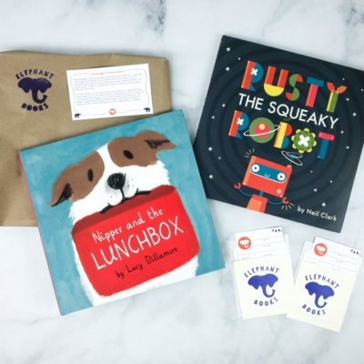 Elephant Books April 2020 Subscription Box Reviews – PICTURE BOOKS