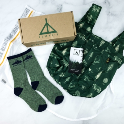 Nomadik May 2020 Subscription Box Review + Coupon