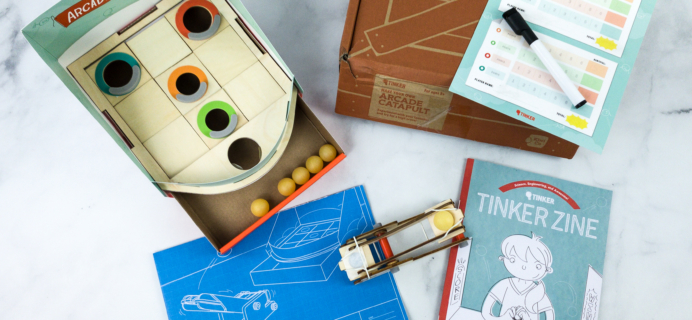 KiwiCo Tinker Crate Review & Coupon – ARCADE CATAPULT