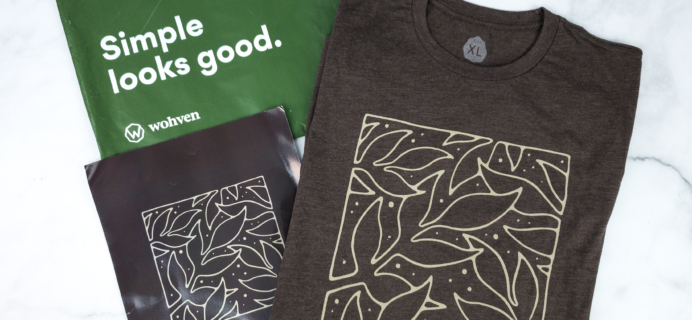 Wohven Men T-Shirt Subscription Review & Coupon – April 2020