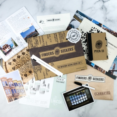 Finders Seekers Subscription Box Review + Coupon – SAN FRANCISCO