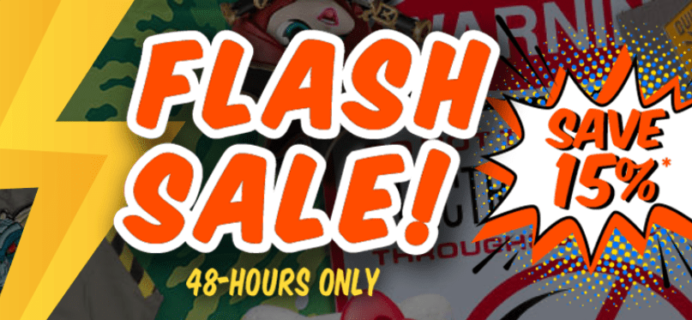 Loot Crate Flash Sale: 15% Off Nearly ALL Crates!