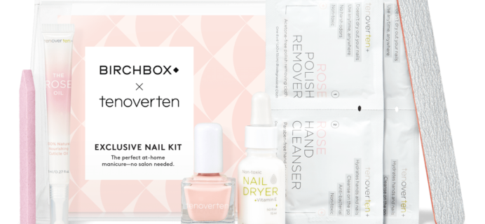 Birchbox x tenoverten Exclusive At Home Manicure Kit Available Now + Coupons!