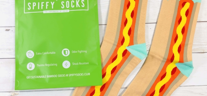 Spiffy Socks April 2020 Subscription Box Review  + Coupon
