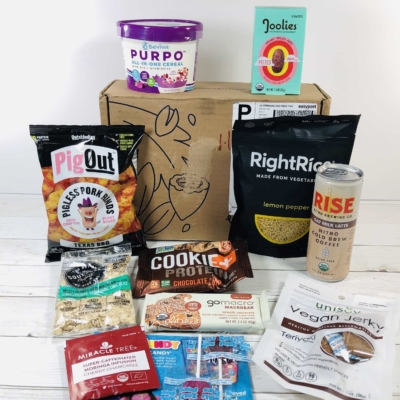 Vegancuts Snack Box May 2020 Subscription Box Review