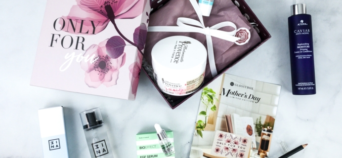 GLOSSYBOX 2020 Limited Edition Mother's Day Review