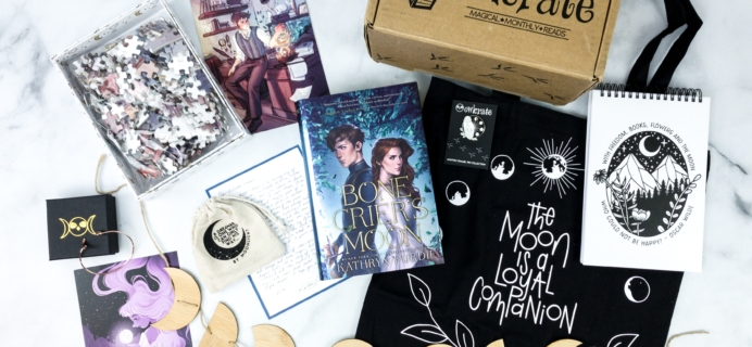 OwlCrate April 2020 Subscription Box Review + Coupon – FULL MOON MAGIC