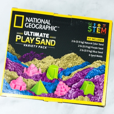 Amazon STEM Toy Club Review – 3 to 4 Years: ULTIMATE PLAY SAND
