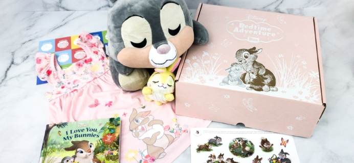 Disney Bedtime Adventure Subscription Box Review – April 2020