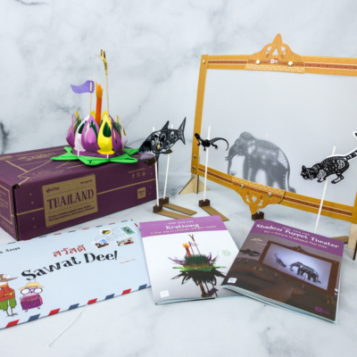 KiwiCo Atlas Crate Review & Coupon – THAILAND