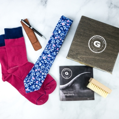 The Gentleman's Box May 2020 Subscription Box Review + Coupon